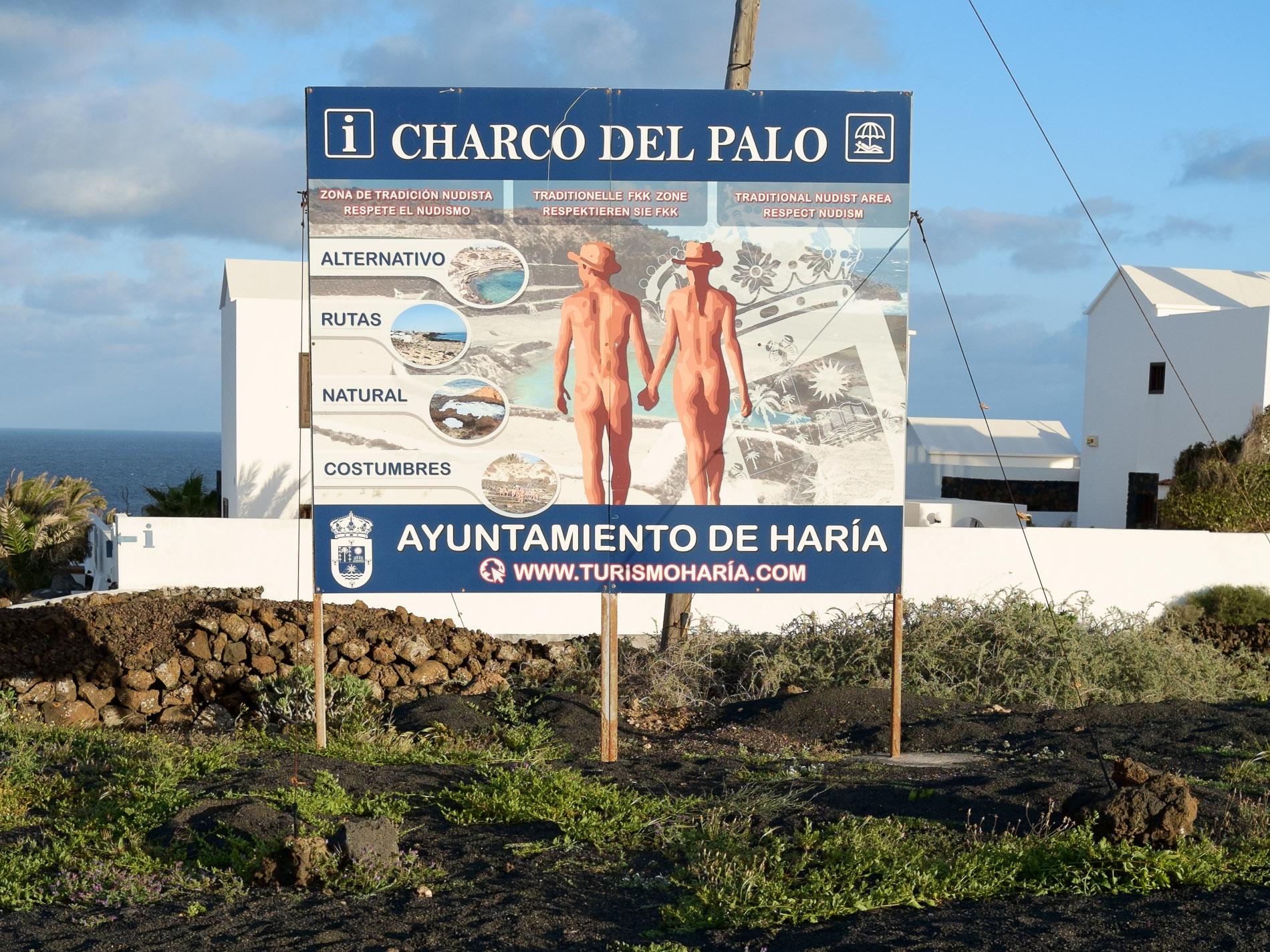 Bienvenue à Charco del Palo